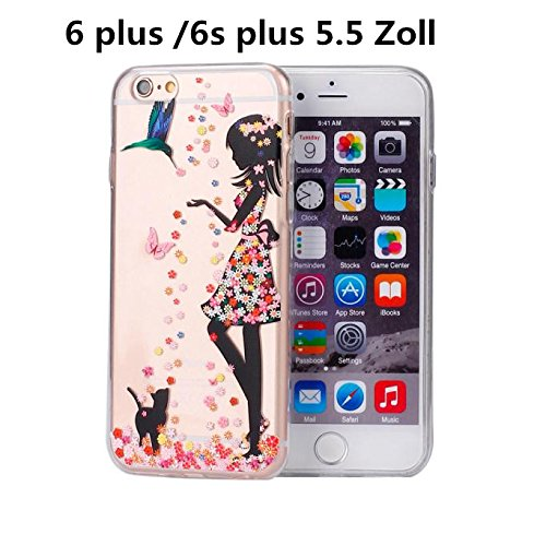 Ouneed® For iPhone 6 6s Plus Hülle,Bunte Vintage Haut PC Hard Case für iPhone 6 / 6S plus 5,5 Zoll (H) N