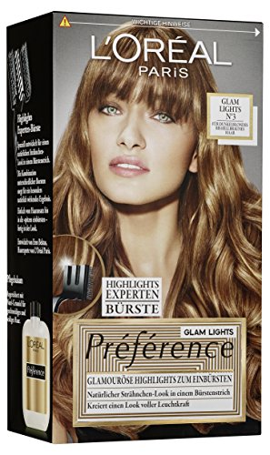 L'Oréal Paris Préférence Glam Lights Nr 3, 1er Pack (1 x 1 Stück) (Haarfarben-highlights)