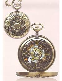 Final Fantasy XIV design pocket watch gold (Moogle)