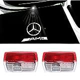 ColorBuy Türlicht Projektor LED Logo Tür Einstiegsbeleuchtung Einstiegslicht Autotür (AMG)