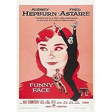 Poster film Cenerentola a Parigi con Audrey Hepburn, formato A4, su carta fotografica satinata da 280g/m²