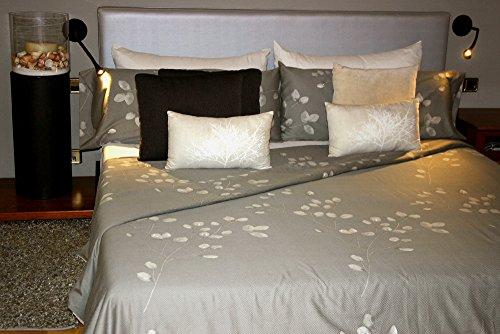 Housse de couette satin coton peigné 220hilos Anna Para cama de 90x190/200 (Nórdico de 150)