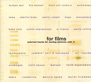 For Films - Selected Tracks For Moving Pictures: Edit. 9 (exklusiv bei Amazon.de)