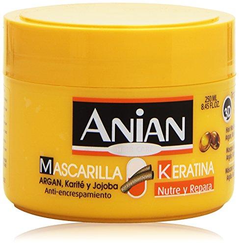 Anian Keratina Mascarilla Repara & Protege Maschera Idratante per Capelli - 250 ml