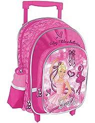 """Barbie II 2 en 1 mochila con ruedas """"Bailarina"""""""