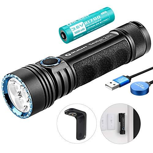 OLIGHT Seeker 2 Pro - Linterna LED recargable potente