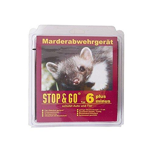 STOP & GO Marderabwehr-Gerät Typ 6 PLUS-MINUS Hochspannung + Ultraschall 07506
