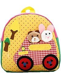 Preisvergleich für Brinny 3D Bunny Babyrucksack Kindergartenrucksack Kindergartentasche Backpack Schultasche Kinder Mädchen Jungen