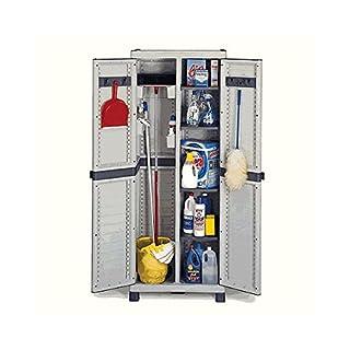 Armadio PVC Classic ripiani plastica Terry Store Age 70x43,8x181,8 cm 4 piani 1002266