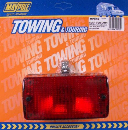 Red Rear Tail Fog Light 12V 24V Universal fit Pick up Bulb G05