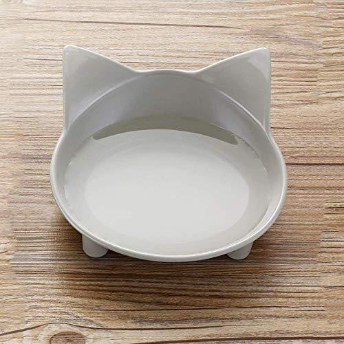 Cycle Crafts Pet Bowl Feeder Rutschfester Hund Cat Puppy Kitten Dishes Utensils Drink Futterwasser Cat Shaped Cute Umwelt