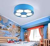 Calcio lampada da soffitto, lampada da soffitto, moderno minimalista Ferro lampada da tavolo led luce giovane ragazza camera da letto luci luci camera da letto soggiorno luci Baby lampada da soffitto, 220.00 voltsV