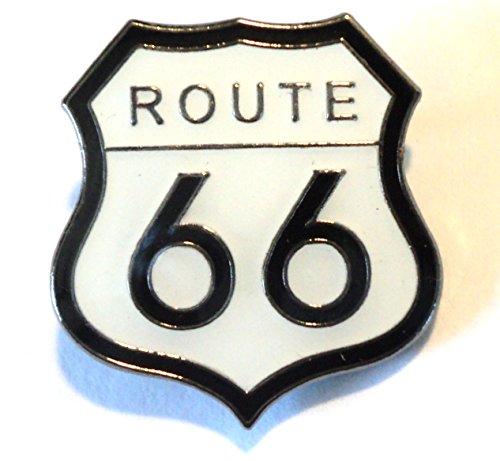 Ruta 66USA Highway American Cartel Metálico, Diseño de Pin, diseño de amapola