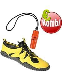 Beco - Zapatos Unisex De Neopreno, Gelb Inkl. Allée - Zapatos Néoprène Unisexe, Gelb Inkl. Beachbox, 41 Eu Beachbox, 41 I