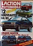 ACTION AUTOMOBILE ET TOURISTIQUE (L') [No 266] du 01/04/1983 - EXCLUSIF : 12 NOUVEAUTES 84 - 85. VW GOLF. FORD FIESTA. R9 TURBO. GRAND MATCH : RENAULT 9 ET 11. PEUGEOT 305. CITROEN BX.