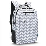 CoolBELL 17,3 Zoll Laptop Rucksack mit USB Ladeanschluss funktion / Mutil-Fach Reise Rucksack - Best Reviews Guide