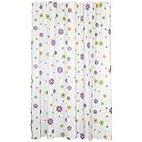 Baño cortina de ducha PEVA impermeable moho , W150 x L200 cm