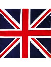 Foulard bandana 100% coton Motif drapeau Union Jack