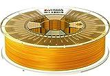 Formfutura 175HDGLA-STYEL-0750 3D Printer Filament, PETG, See Through Gelb
