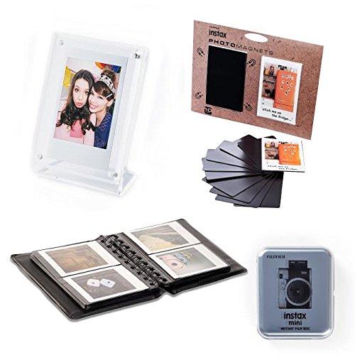 Fujifilm Instax Mini 4 in 1 Zubehör Set, weiß/schwarz Fuji Digital Photo Frames