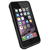 LifeProof frè wasserdichte Schutzhülle für Apple iPhone 6, schwarz