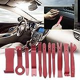 Swiftswan 11 Teile/Satz Auto Radio Demontage Werkzeuge Änderung Werkzeuge Reparatur Handwerkzeug Sets (Farbe: Rot)