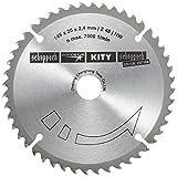 Scheppach HW-Kreissägeblatt Durchmesser 145 x 20 mm, 2,2 mm, 48Z für Tauchsäge, 3901803704