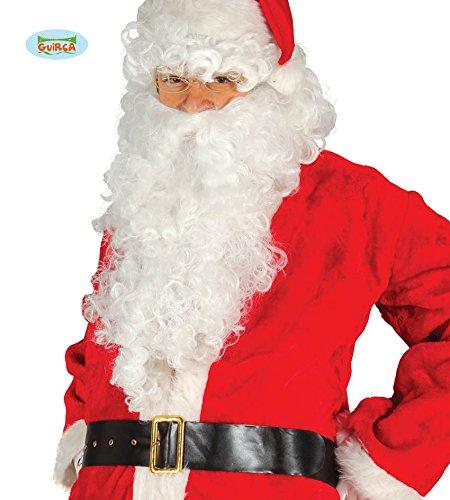 (Schwarzer Weihnachtsmann Gürtel für Herren ca. 120 cm)