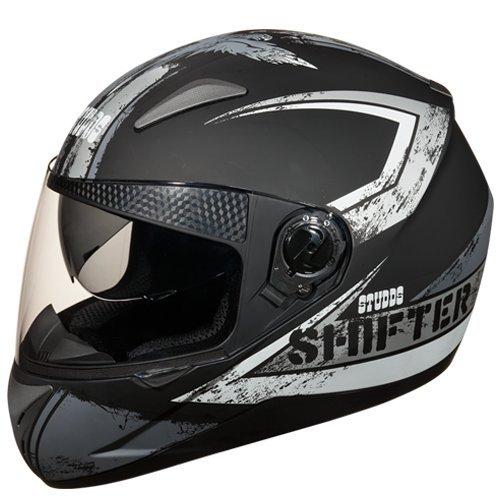 Studds Shifter D1 Helmet (Matt Black N4, L)