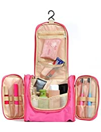 Orpio Toiletry Travel Bag, Waterproof Hanging Toiletry Bag Makeup Organizer, Portable Cosmetic Bag Set Bathroom...