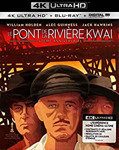 Le Pont De La Rivière Kwai 4K [Blu-ray] [4K Ultra HD + Blu-ray + Digital HD]