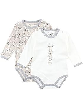 Fixoni Unisex Baby Body, 2er Pack