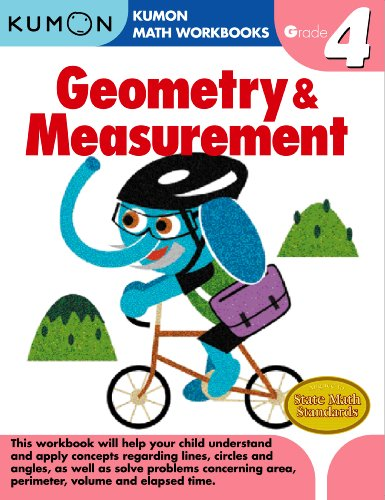 Geometry & Measurement, Grade 4 (Kumon Math Workbooks)