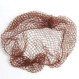 Best Hair Nets - 2 X NYLON SLEEP-IN HAIR NETS (DARK BROWN) Review