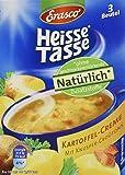 Heisse Tasse Kartoffel-Creme mit Croûtons Faltschachtel á 3 Beutel á 0,15 l, 12er Pack (12 x 450 ml)