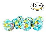 TOYMYTOY 12pcs 6.3 cm spremere palla giocattolo globo mondo mappa spugna palla morbida palla rimbalzo per i bambini del bambino