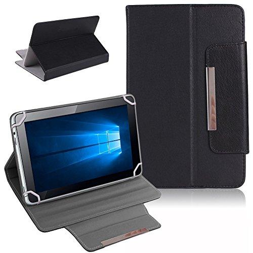 Tablet Schutz Tasche Hülle für ARCHOS 101b Xenon Case Cover Universal Bag NAUCI, Farben:Schwarz