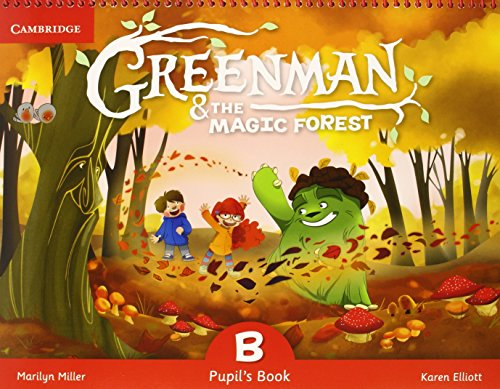 Greenman and the Magic Forest B Pupil's Book with Stickers and Pop-outs par Marilyn Miller