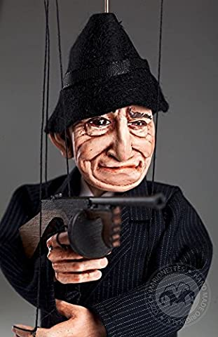 The God Father - Mafia Czech Marionette - Handmade String Puppet