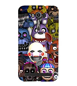 Vizagbeats Animated Shrek Back Case Cover for ASUS Zenfone 601 KL