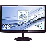 Philips 277E6EDAD/00 68,6 cm (27 Zoll) Monitor (VGA, DVI, HDMI, 1920 x 1080, 60 Hz, Softblue Technologie) dunkelkirsch