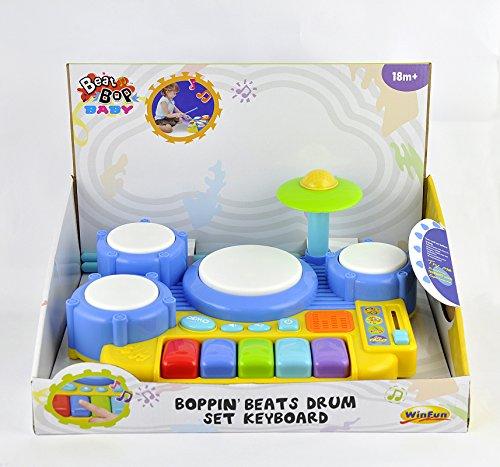 Winfun 4895038549258 Boppin Beats Drum Set Keyboard