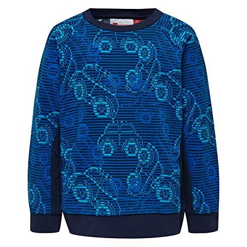 Lego Wear Baby-Jungen Duplo Boy Sirius 322-SWEATSHIRT Sweatshirt, Blau (Dark Navy 590), (Herstellergröße: 98)