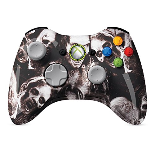Wireless Xbox Controller Für 360 Rosa (XBOX 360 Regler Wireless-Glossy Walking Dead Zombies Individuelle Painted- ohne Mods)