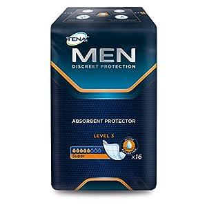Tena Men Level 3 – diskrete Einlage – bei mittelschwerer Inkontinenz – 27,5 x 23 cm – 96 Stück
