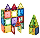 Citi Tiles 60 Piece Super Set: with Strongest Magnets Guaranteed, Sturdy, Super Durable with Vivid Clear Color Tiles & Accessories to Enhance your Children Creativity
