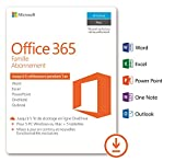 Microsoft Office 365 Famille | 5 PC Wind...