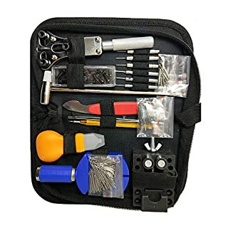 Ahmi 227 PCS Watch Repair Tools,Professional Watch Repair Kit,Ideal Choice for Beginners and Watch Enthusiasts White