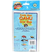 Franko Maps Oahu Dive Map for Scuba Divers and Snorkelers