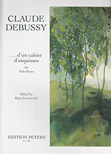 Partitions classique EDITION PETERS DEBUSSY C. - UN CAHIER D'ESQUISSES - PIANO Piano